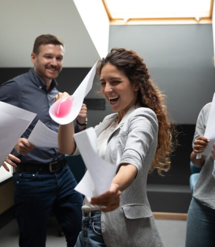 dancing in the workplace